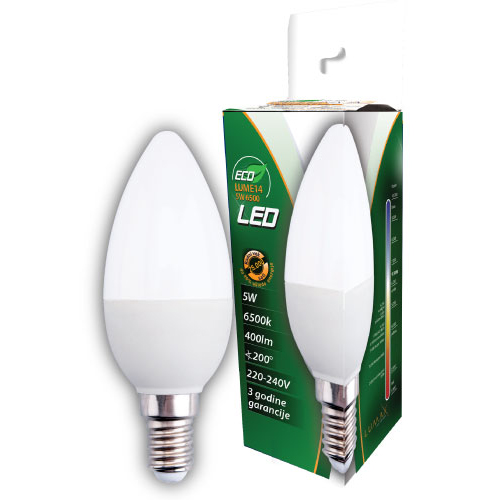 ECO LED sijalica 5W 6500