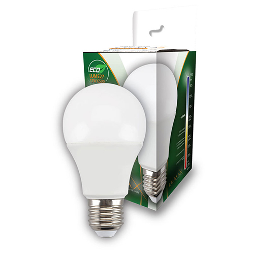 ECO LED sijalica E27 12W 6500