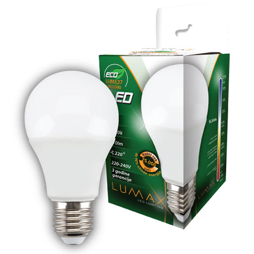 ECO LED sijalica 9W 6500