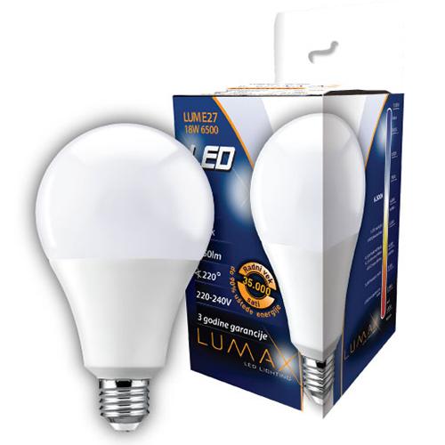 LED sijalica 18W 6500